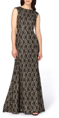 Women's Tahari Lace Mermaid Ballgown $229 thestylecure.com