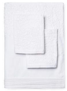 Melange Home Glacier Embroidered Duvet Set