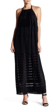 Endless Rose Pleated Trapeze Maxi Dress