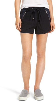 Women's Blanknyc Drawstring Linen Blend Shorts $88 thestylecure.com