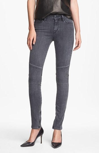 Vince Ankle Zip Skinny Stretch Jeans