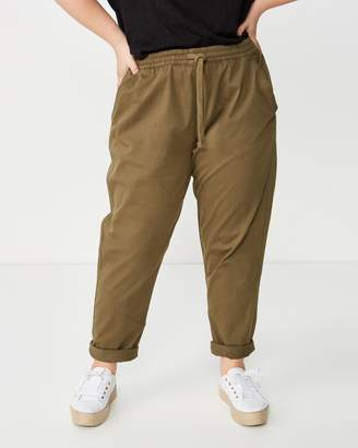 Cotton On Curve Rolled Hem Chinos