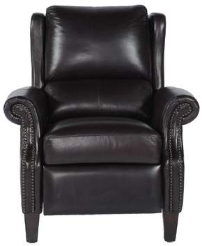 Canora Grey Mobley Bustle Back Leather Manual Recliner Canora Grey