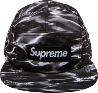 Supreme Ripple Camp Cap - 'SS 2017' - Black