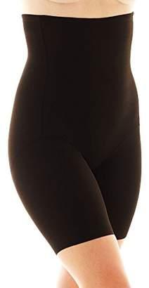 Naomi & Nicole Naomi and Nicole Women's Plus-Size Unbelievable Comfort Plus Hi Waist Thigh Slimmer, Black, X-Large/1X