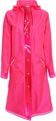The Mighty Company The Seaford Neon Pink Rain Coat