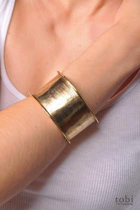 Allison Daniel Thick Bangle Bracelet