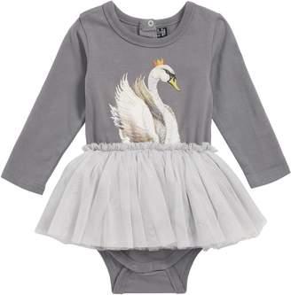 Rock Your Baby Swan Lake Circus Tutu Bodysuit