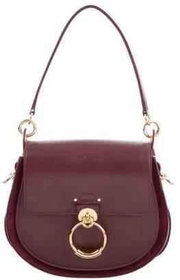 609d924a58020 Chloé Tess Leather Saddle Bag