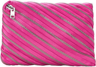 Alexander Wang Unzip Hot Pink Clutch