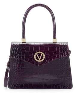 Mario Valentino Melanie Leather Tote Bag