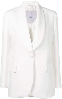 Ermanno Scervino V-neck blazer jacket
