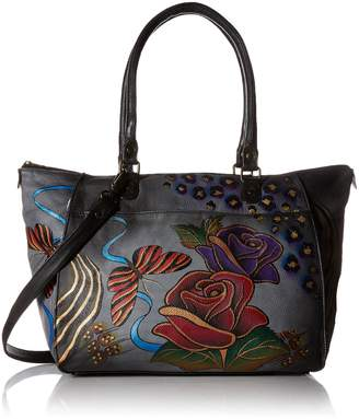 Anuschka ANNA by  Anna by Handpainted Leather Large Tote
