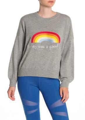 Spiritual Gangster Today Rainbow Wool Blend Sweater