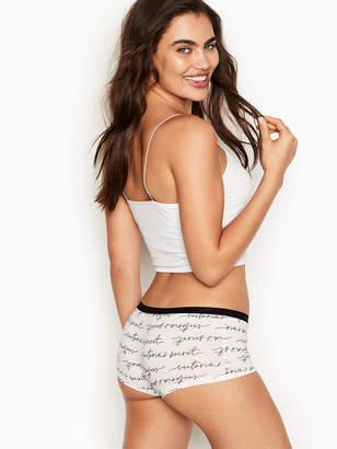 Victoria's Secret Stretch Cotton Shortie Shorts Panty