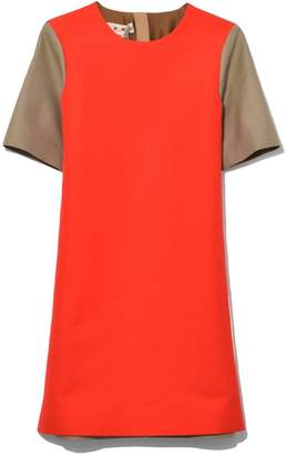 Marni Short Sleeve Dress in Red