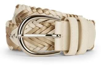 No Boundaries Women's Basic Braided Belt