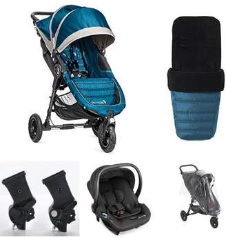 Baby Jogger City Mini Gt Teal Travel System Combination