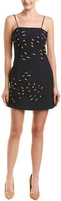 C/Meo CMEO COLLECTIVE Collective Embroidered Sheath Dress