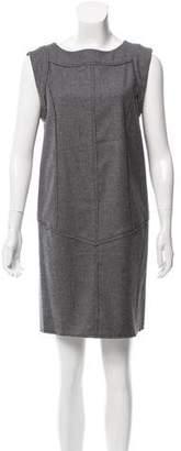 Fendi Sleeveless Virgin Wool Dress w/ Tags