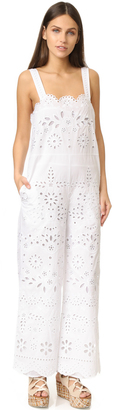 RED Valentino Eyelet Jumpsuit $1,195 thestylecure.com