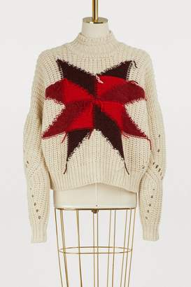 Isabel Marant Hanoi wool and cotton sweater