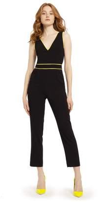 Alice + Olivia Jeri Neon Straight Leg Jumpsuit