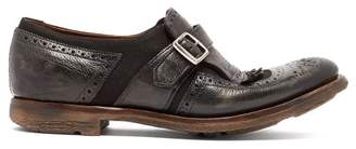 Church's Shanghai Buckled Leather Brogues - Womens - Black