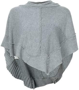 Greg Lauren hooded poncho
