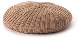 aquagirl (アクアガール) - AG バイアクアガール リブニットベレー帽子