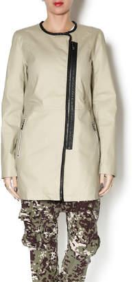 Katherine Barclay Collarless Coat