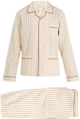 Prada Striped cotton pyjama set
