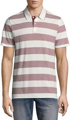 Arizona Mens Y Neck Short Sleeve Polo Shirt