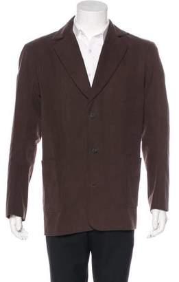 eskandar Twill Silk-Lined Sport Coat w/ Tags