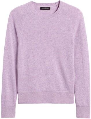 Banana Republic Italian Merino-Blend Crew-Neck Sweater