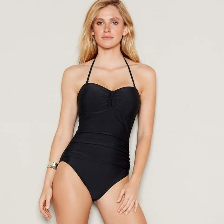 Black Bandeau Swimsuit