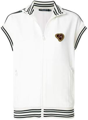 Dolce & Gabbana Sacred Heart zip top