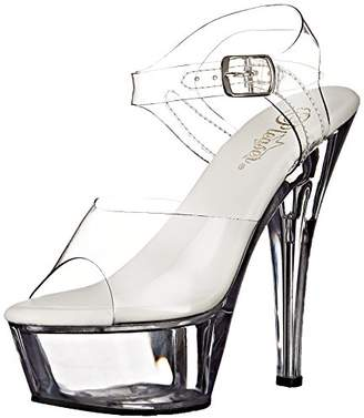 Pleaser USA Women's Kiss208vl/C/M Platform Dress Sandal