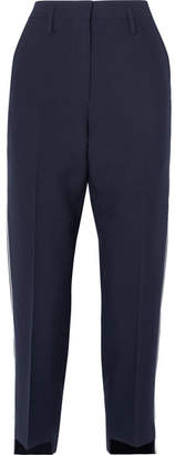 Golden Goose Crepe Straight-leg Pants - Navy