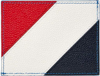 Thom Browne Diagonal Stripe Card Holder