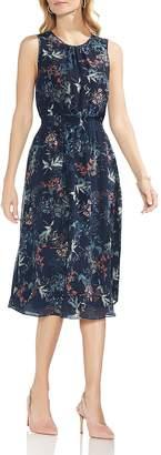 Vince Camuto Sleeveless Garden Floral Dress