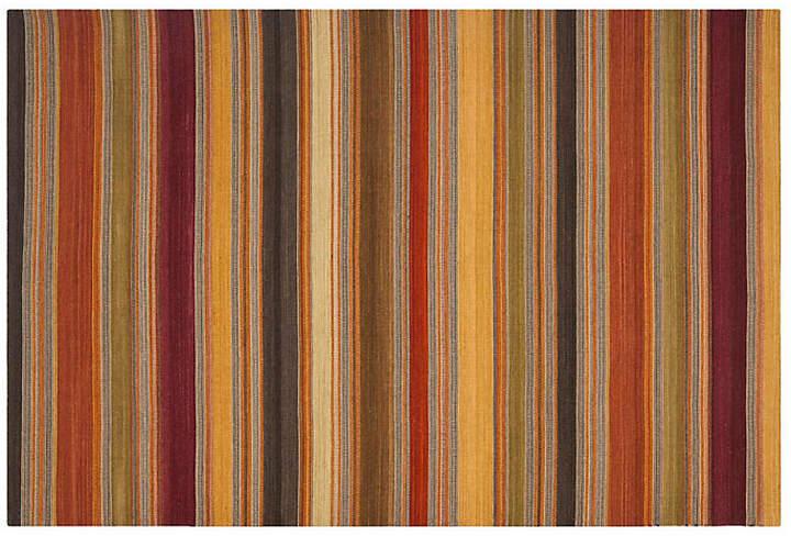 Sobral Flat-Weave Rug - Gold - 2'6