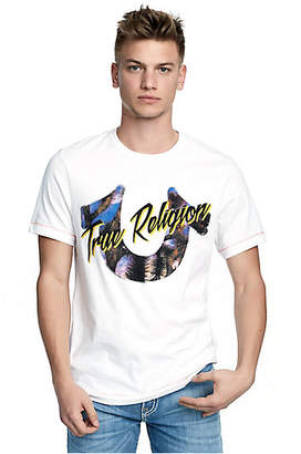 True Religion MENS DESERT MIRAGE LOGO TEE
