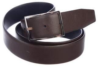 Brunello Cucinelli Reversible Leather Belt