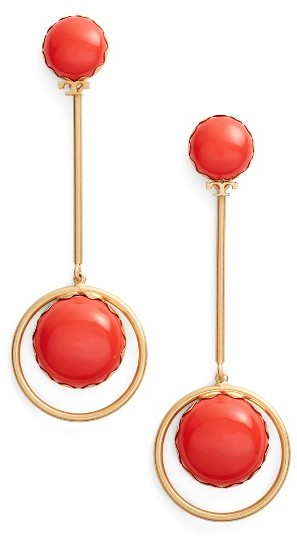 Tory Burch Women's Tory Burch Linear Drop Earrings