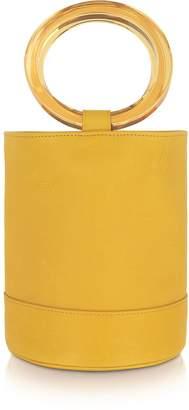 Simon Miller Sun Yellow Bonsai 20 Bucket Bag