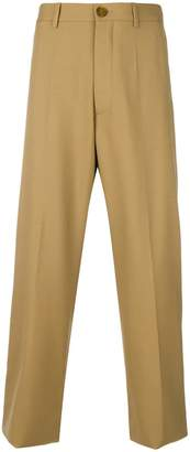 Marni cropped utility trousers