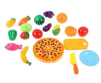 Kids Kitchen Pretend Play Set,amazingdeal Children Girls Cut Food Vegetables Toy 24pcs