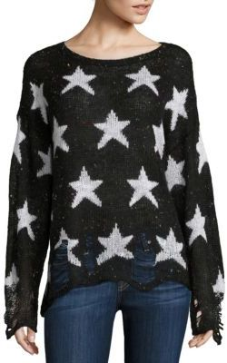 Wildfox Seeing Stars Funfetti Yarn Sweater $190 thestylecure.com