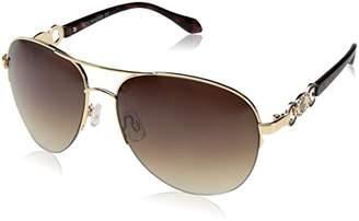 Rocawear Women's R565 GLDBR Aviator Sunglasses
